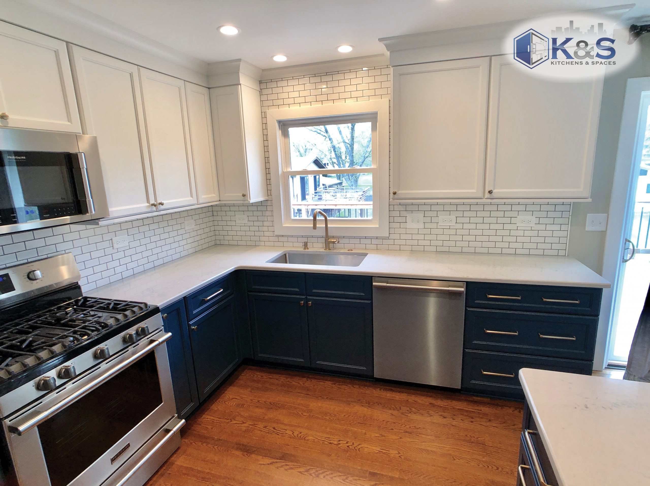 Finished kitchen remodel in Downers Grove